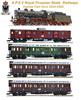 German Prussian Era I Express Train