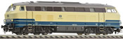 German Diesel Locomotive BR 215 of the DB (Sound)