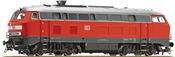 German Diesel Locomotive BR 225 of the DB-AG (Sound)