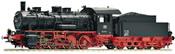 German Steam Locomotive BR 55 of the DB