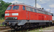 German Diesel Locomotive BR 225 of the DB-AG