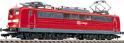 Electric loco of the DB AG (DB-Cargo) in traffic red livery, class 151