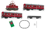 Swiss Analog Starter Set w. Rack and Pinion Locomotive