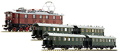 German Passenger Train Set w. Electric Loco EP5 of the DRG (Sound)
