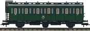 Czech Compartment Coach 3-axle of the CSD