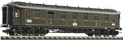 Royal Prussian 1st/2nd Class 6-axle Express Coach type AB 6u (Pr06) of the K.P.E.V