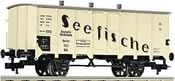 Refrigerated wagon Seefische, type Gkh of the DRG