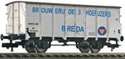 """NS Beer wagon """"BROUWERU DE 3 HOEFUZERS BREDA"""","""