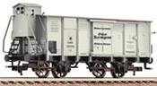 German Box Car w. Brakeman's Cab G10 of the KPEV