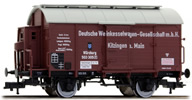 Tank wagon for wine w. brakeman´s cab