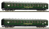 German 2pc 2nd Class Couchette Coach type Bc4üm Set