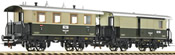Fleischmann 581121 German Passenger Car Set for 403209