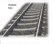 flexible ready-ballasted track with concrete sleepers