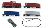 German Digital Starter Set w. BR212 and 3 x Container Car