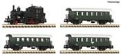 4 piece set: Steam locomotive Rh 770 with passenger train ÖBB