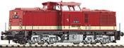 German Diesel Locomotive BR 112 of the DR