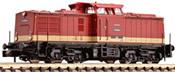 German Diesel Locomotive BR 110 of the DR