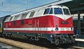 German Diesel Locomotive Class 118 of the DR