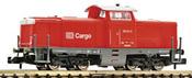 German Diesel Locomotive Class 212 of the DB AG