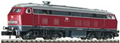 German Diesel Locomotive 218387-9 of the DB AG