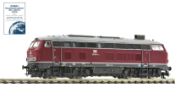German Diesel Locomotive Class 210 with gas turbine drive of the DB