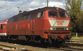 German Diesel Locomotive Class 218 of the DB-AG