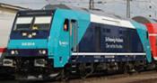German Diesel Locomotive BR 245 Nah.SH