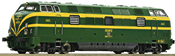 Spanish Diesel locomotive series 340 of the RENFE