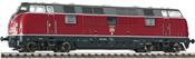 German Diesel Locomotive Class 221 of the DB (Sound)