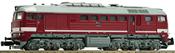 German Diesel locomotive class 120 of the DR  (Sound)