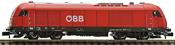 Austrian Diesel locomotive class 2016 of the ÖBB