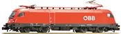 Austrian Electric Locomotive Rh 1116 of the ÖBB (Sound)