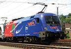 Austrian Electric Locomotive Rh 1116 168 Vega Transport (Sound)