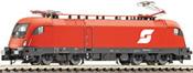 Austrian Electric Locomotive Rh 1016 of the OBB (Sound)