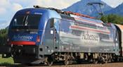 Austrian Electric Locomotive Rh1216 019-0 Achenseeschiffahrt