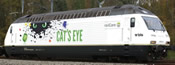 Swiss Electric Locomotive Re465 Cat
