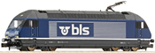 Swiss Electric locomotive Re 465 of the BLS  (Sound)