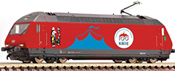Swiss Electric locomotive 460   058-1 Circus Knie of the SBB