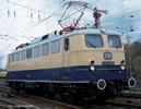German Electric Locomotive E 10 1239 Rheingold, Museum (Sound)