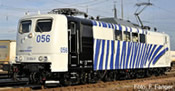German Electric Locomotive BR 151 Locomotion blue (Sound)