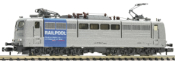 German Electric Locomotive 151 062-7, Railpool (Sound)