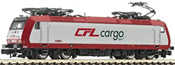 Luxembourg Electric Locomotive BR 185 CFL-Cargo