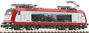 Luxembourg Electric Locomotive 4019 Dampflok of the CFL
