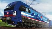 Swiss Electric locomotive 193 521-2 of the SBB Cargo