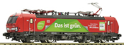 German Electric Locomotive 193 301-9 of the DB AG (Sound)