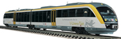 German Diesel Railcar 642 006-1 of the DB AG