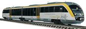 German Diesel Railcar 642 006-1 of the DB AG (Sound)