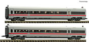 2 piece set: Matching coaches for the EMU ICE class 411