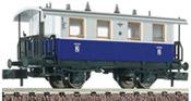 German Passenger Car of the Edelweiss Railroad