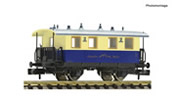 Rack-and-pinion railway passenger coach